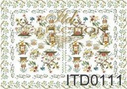 бумага для декупажа классическая D0111