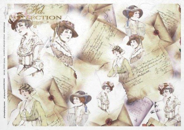 Reispapier Decoupage - Vintage*rýžový papír decoupage - Vintage*papel de arroz decoupage - Vintage