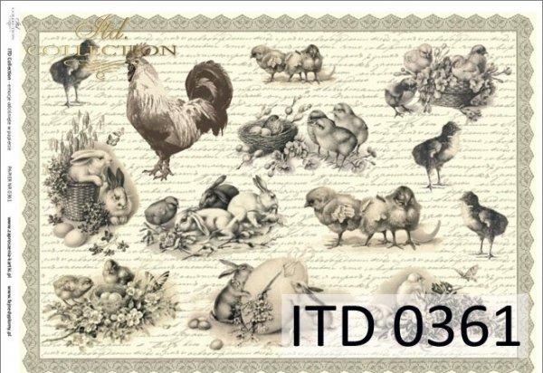 бумага для декупажа классическая D0361