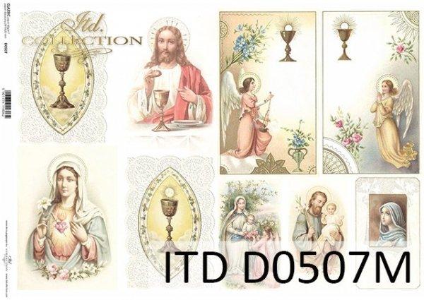 бумага для декупажа классическая D0507M