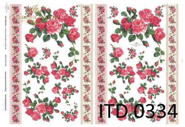 бумага для декупажа классическая D0334M