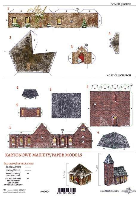 Kartonowa makieta*Paper models*Modelos de papel*Papiermodelle*Бумажные модели