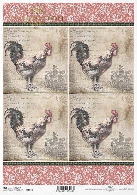 papel decoupage Pascua*Papír decoupage Easter*Papier decoupage Ostern