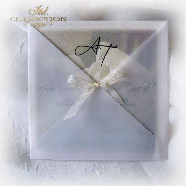 Einladungskarten / Hochzeitskarte 1721_Tulpe