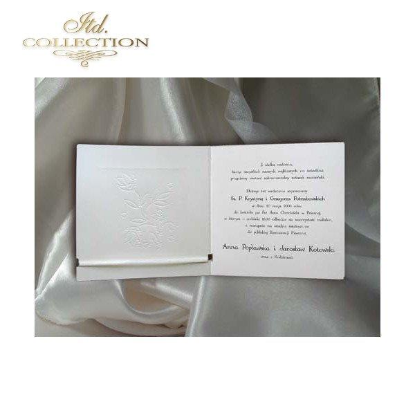 Einladungskarten / Hochzeitskarte 1408