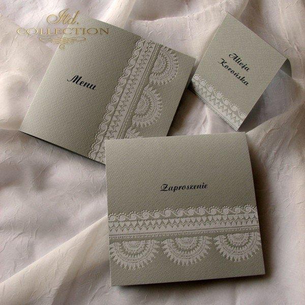 Einladungskarten / Hochzeitskarte 1716