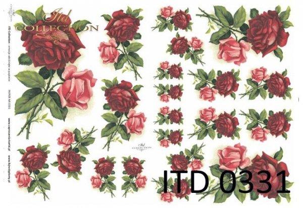 Decoupage paper ITD D0331M