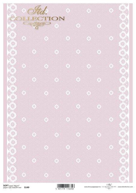 Decoupage paper Soft ITD S0149