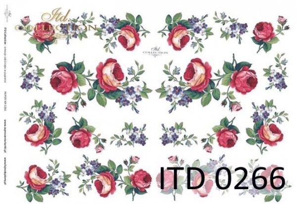 Decoupage paper ITD D0266M