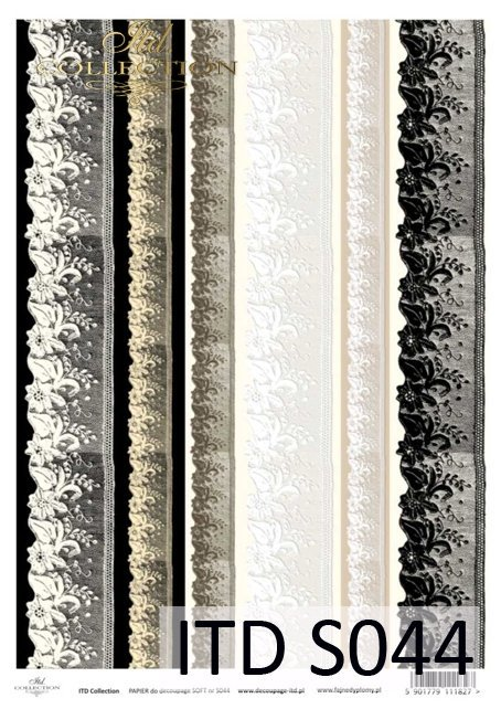 Decoupage paper Soft ITD S0044