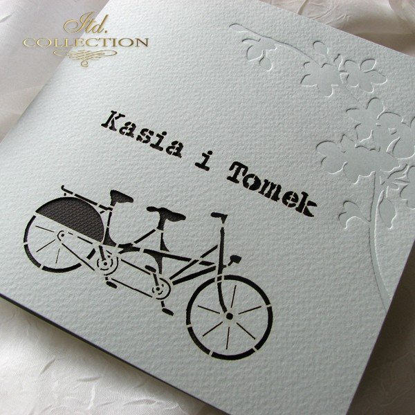 Invitations / Wedding Invitation 1724_32_brown