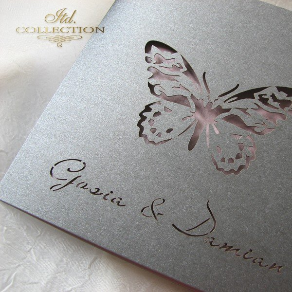 Invitations / Wedding Invitation 1694_95