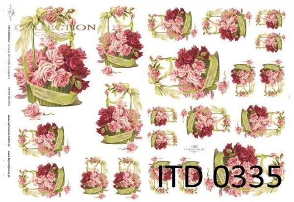 Decoupage paper ITD D0335M