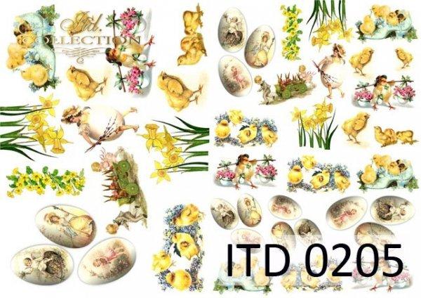 Decoupage paper ITD D0205M
