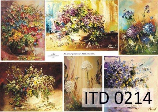 Decoupage paper ITD D0214M