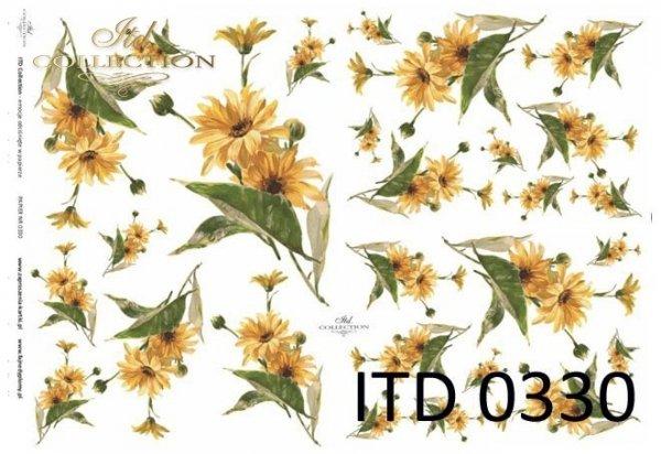Decoupage paper ITD D0330M