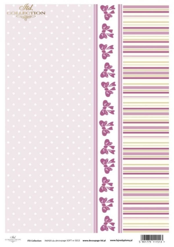 Decoupage paper Soft ITD S0013