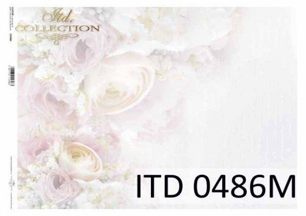 Decoupage paper ITD D0486M