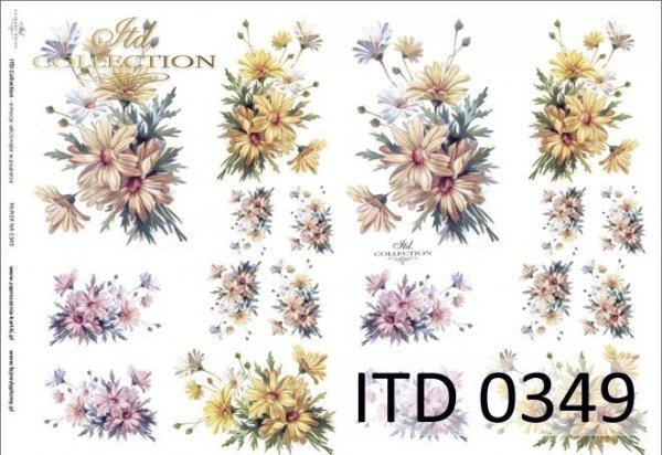 Decoupage paper ITD D0349M
