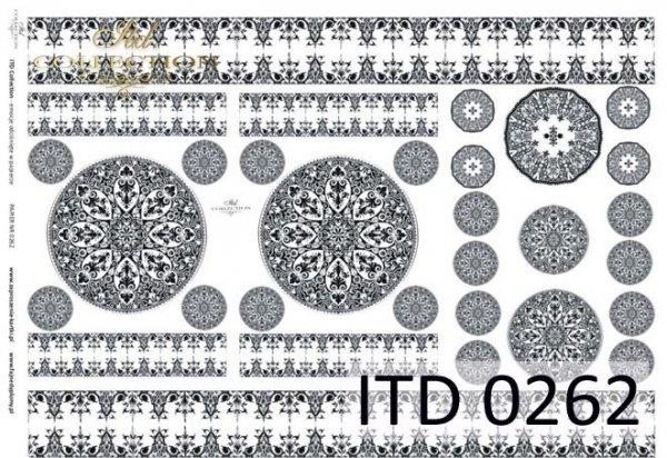 Decoupage paper ITD D0262M