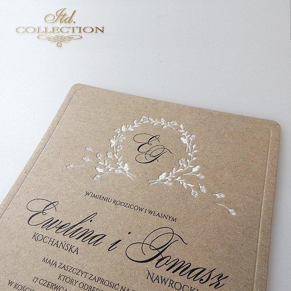 Invitations / Wedding Invitation 2024