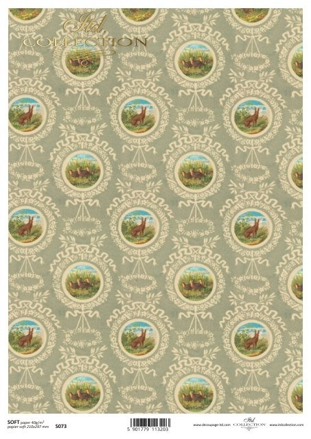 Decoupage paper Soft ITD S0073
