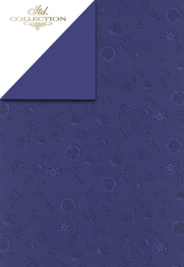Scrapbooking papers SCRAP-003 ''Sea''