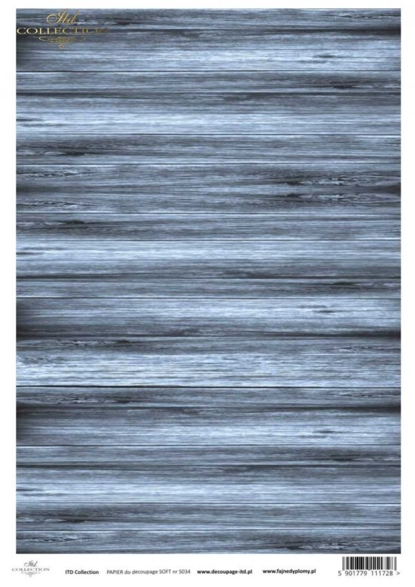 Decoupage paper Soft ITD S0034