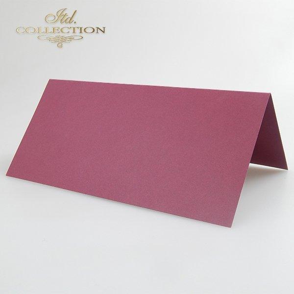 Baza do kartki kolor Bordo. Format kartki stworzony do koperty DL