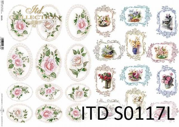 Papier decoupage SOFT ITD S0117L