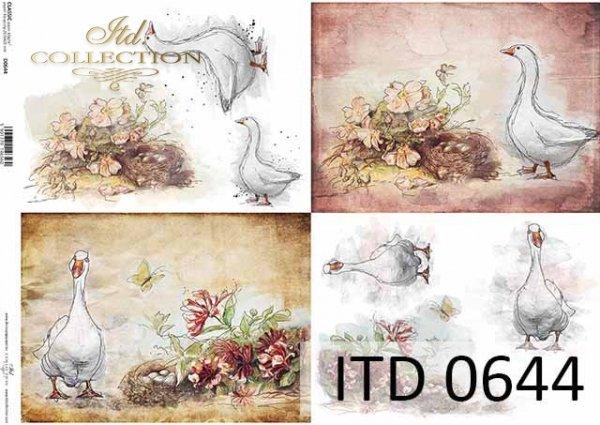 Papier decoupage ITD D0644
