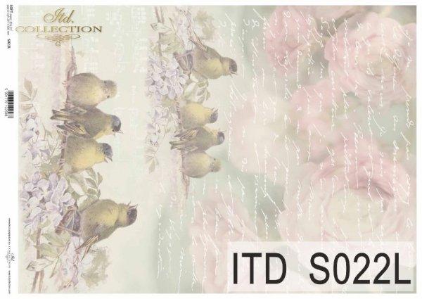Papier decoupage SOFT ITD S0022L