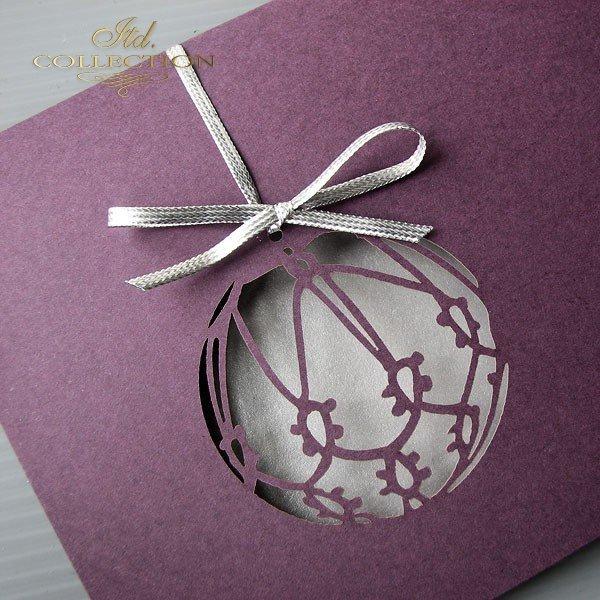 Kartki świąteczne / Kartka bożonarodzeniowa K360