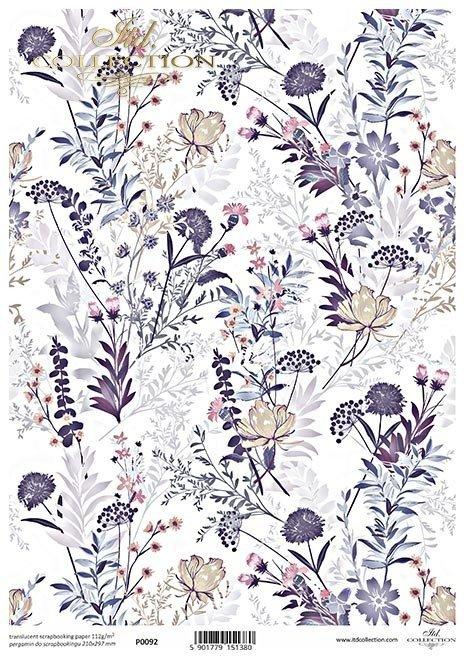 kwiaty w fiolecie*flowers in purple*flores de color púrpura