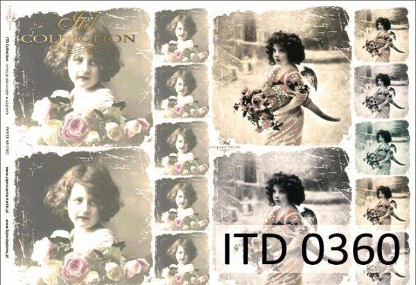 Papier decoupage ITD D0360