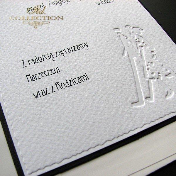 Zaproszenia ślubne / zaproszenie 1711