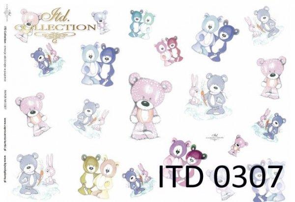 Papier decoupage ITD D0307