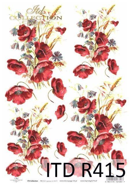 mak, maki, kwiat, kwiaty, kwiatek, kwiatki,  R415