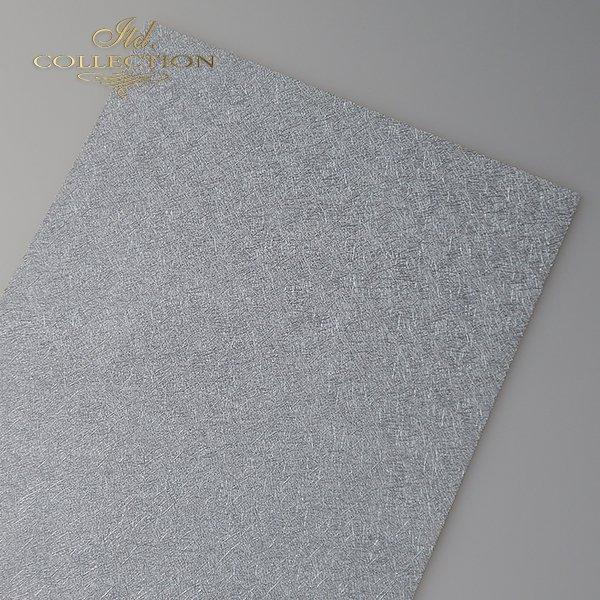 Papier do scrapbookingu PSS039 - strukturalny - srebro - A4