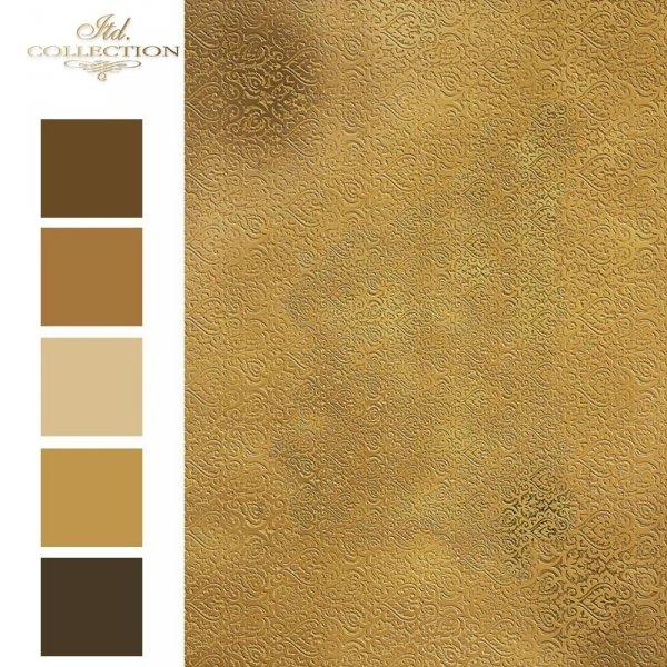 Papier-ryzowy-tapetowy-maureska-stare-zloto*papel-de-arroz-wallpaper-maureska-oro-viejo-1