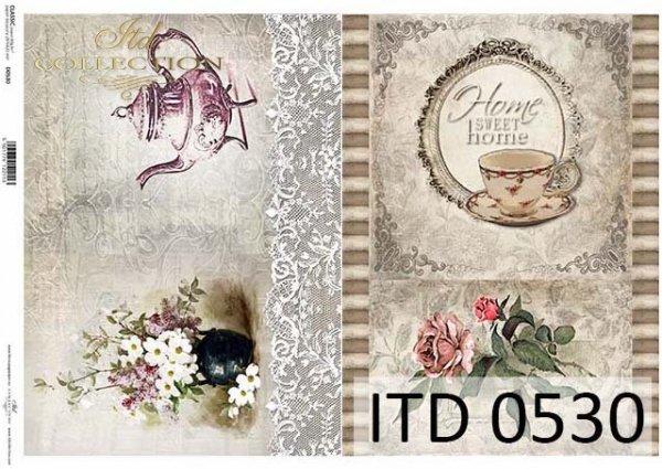 Papier decoupage ITD D0530