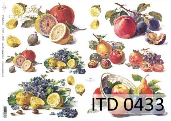 Papier decoupage ITD D0433M
