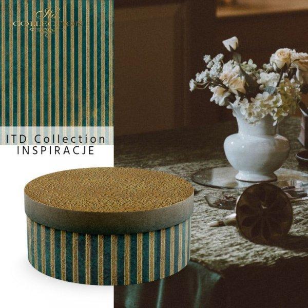 papier-ryżowy-złoto-zielone-paski-przechodzące-w-turkus-idealne-do-wykańczania-szkatułek-pudełek*rice-paper-in-gold-green-striped-passing-in-turquoise-perfect-to-finishing-chests-boxes
