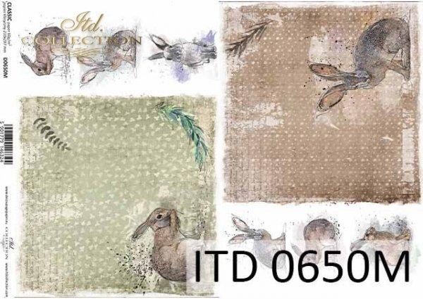 Papier decoupage ITD D0650M