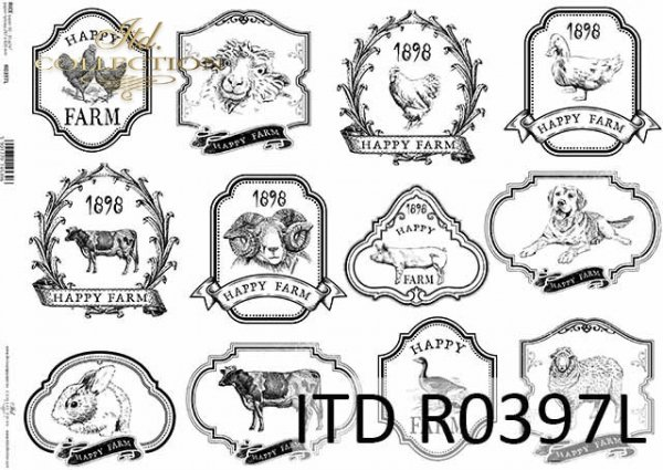 Papier ryżowy ITD R0397L