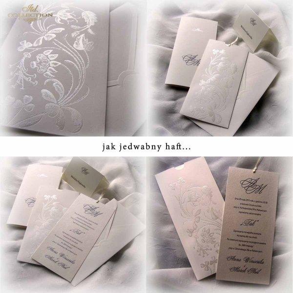 Zaproszenia ślubne / zaproszenie 2012