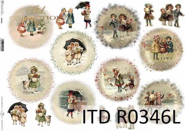 Boże Narodzenie, motywy świąteczne, dzieci, motywy na bombki*Christmas, Christmas themes, children, motifs for Christmas balls