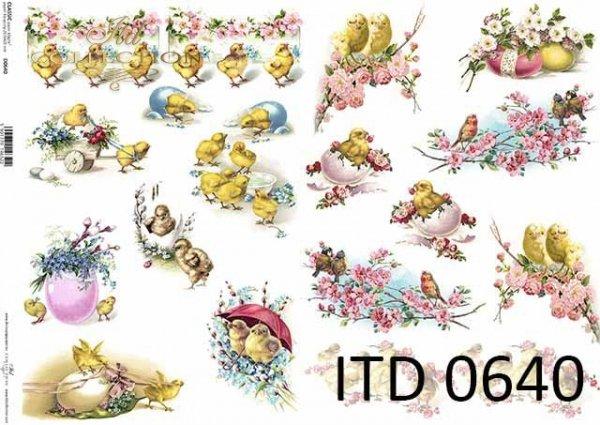 Papier decoupage ITD D0640