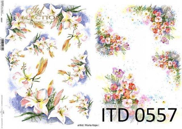Papier decoupage ITD D0557