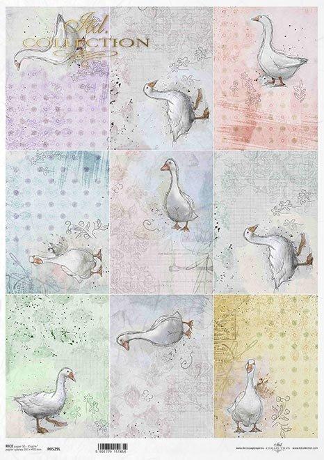 Pastele, tagi, zające, zajączki, króliki, Wielkanoc, małe obrazki*Pastels, tags, hares, rabbits, Easter, little pictures